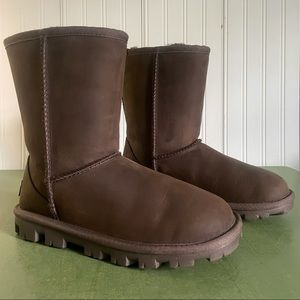 UGG Australia Essential Short Leather Boots
